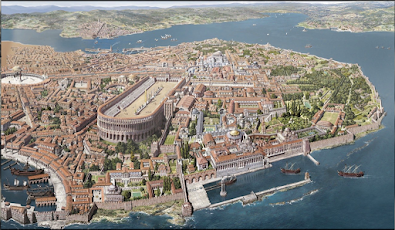 Capture d'écran ψηφιακή αναπαράσταση της Κωνσταντινούπολης