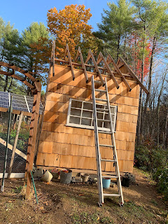 how to roof a shed