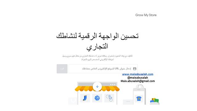الأداة تسمى Grow My Store تتبع منصة Think with Google