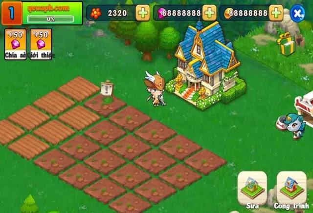 Farm Wonderland - Nông Trại Vui Vẻ mod vàng & kim cương cho Android