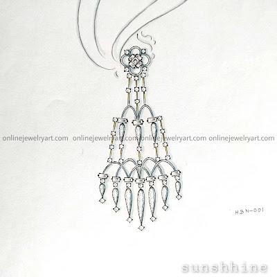 long diamond earrings