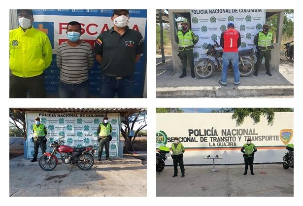 hoyennoticia.com, Dos capturados, dos pistolas y una moto incautada