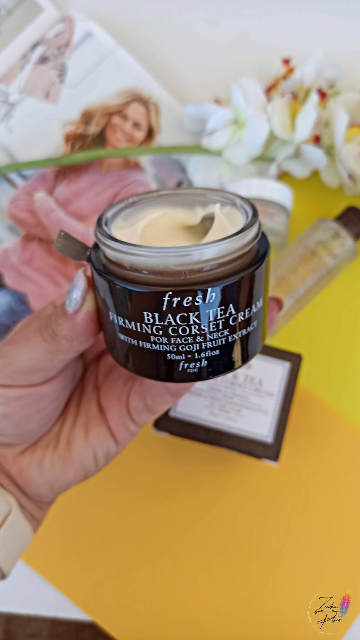 Fresh Black Tea Firming Corset Cream - krem ujędrniający
