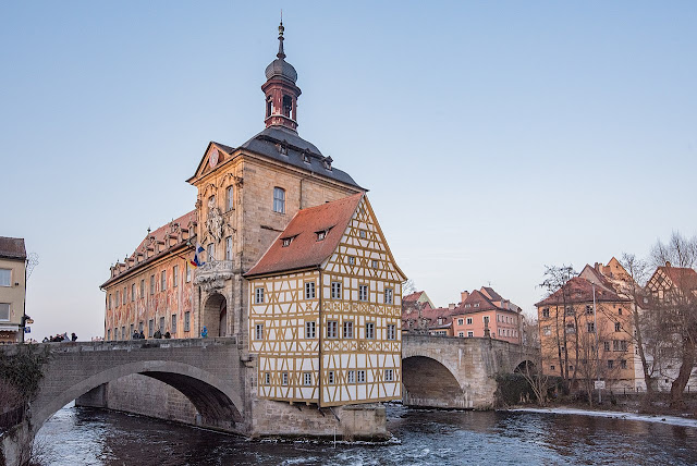 Old town hall (Altes Rathaus) in Bamberg (Photo Tilman2007/Wikipedia)