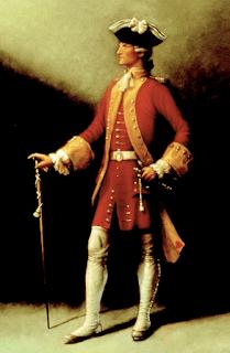 Retrato Richard Hennessy conhaque cognac