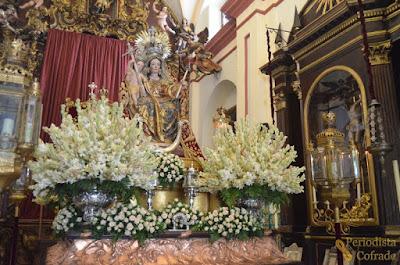 Resultado de imagen de Virgen del Rosario de la capilla de Los Humeros