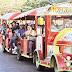 """Hasta los """"Trencitos"""" llenan vacío de unidades de transporte público en Maracaibo"""