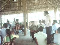 K. Srinivasan sharing the concepts with participants