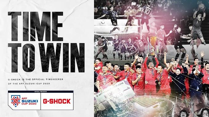 """Casio G-Shock ได้รับความไว้วางใจให้เป็นตัวแทนความเที่ยงตรงในการแข่งขันฟุตบอล """" AFF Suzuki Cup 2020 """""""