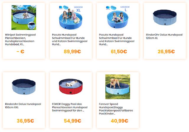 Die 7 besten Pools für Hunde beim Cheapero Preisvergleich