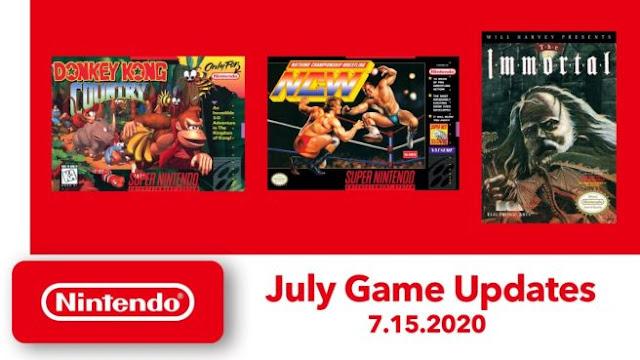 Nintendo Switch Online: Donkey Kong Country (SNES) e mais dois jogos chegam na próxima semana
