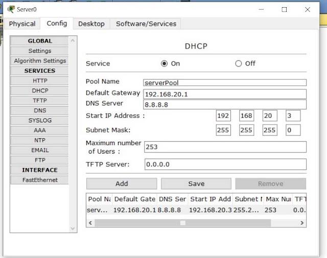 cara menggunakan dhcp server
