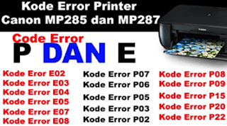 Cara Reset Printer mp237 mp287