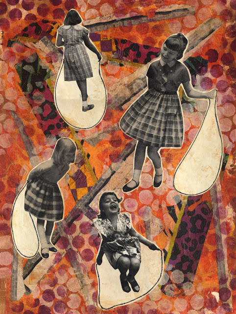 Jump rope collage