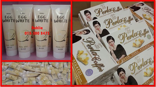 PERLA COFFEE + EGG WHITE MASK PROMOSI!!!!!!!!!