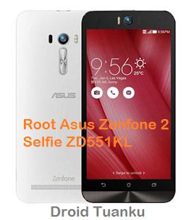 Cara Root Asus Zenfone 2 Selfie ZD551KL (Tanpa Hapus Data)