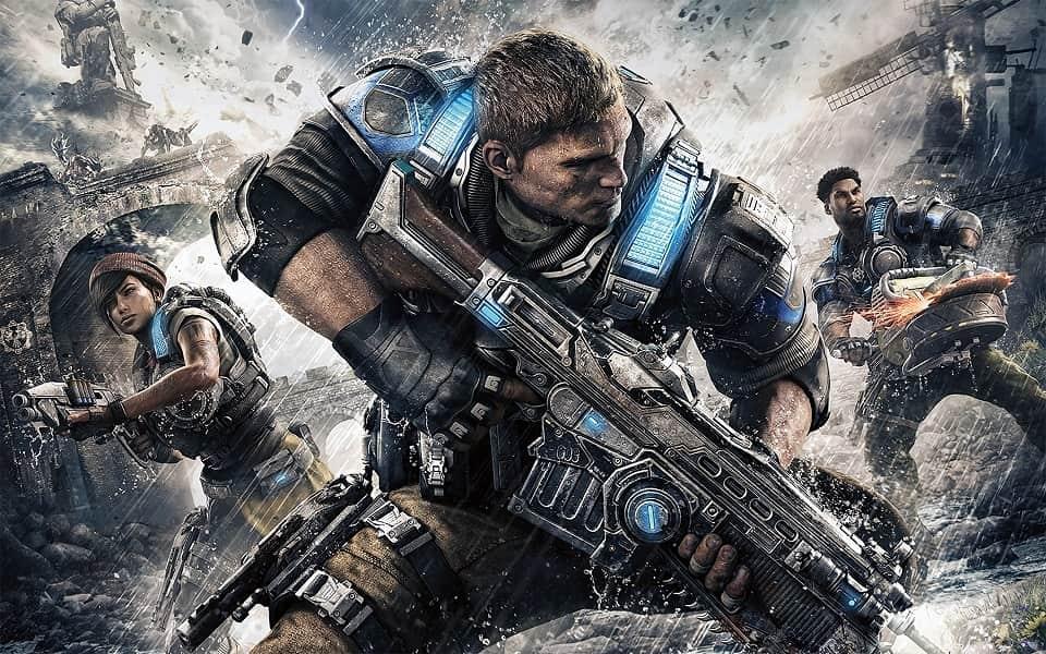 Gears of War 4, Gears of War, TPS, шутер, PC, Windows 10, Xbox One, SciFi, фантастика