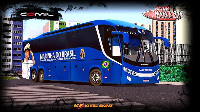 COMIL 1200 6X2 - MARINHA DO BRASIL