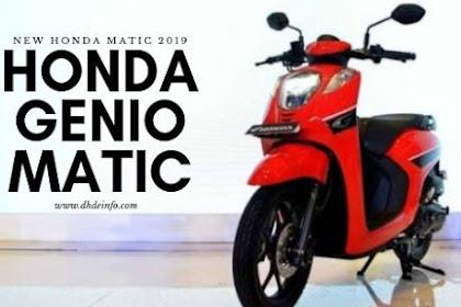 Honda Genio Matic, Motor Matic Keluaran Honda Dengan Harga 17 Juta-an