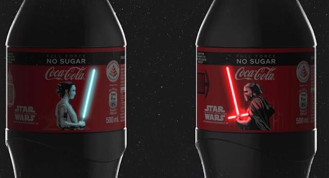 Coca-Cola, Star Wars e a primeira garrafa OLED do mundo!