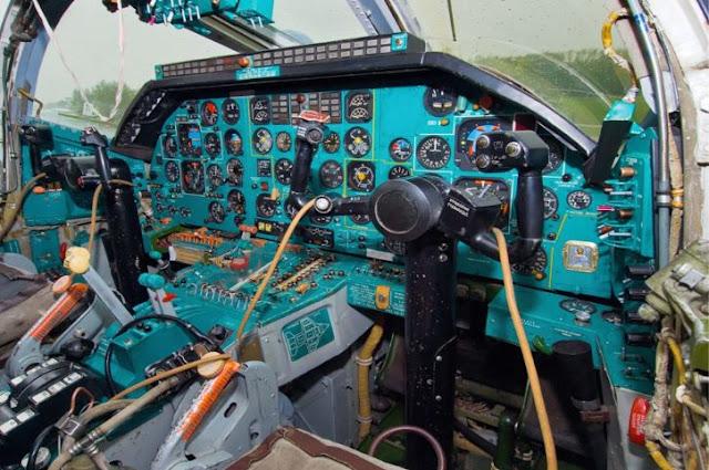 Tupolev Tu-22M3 Cockpit