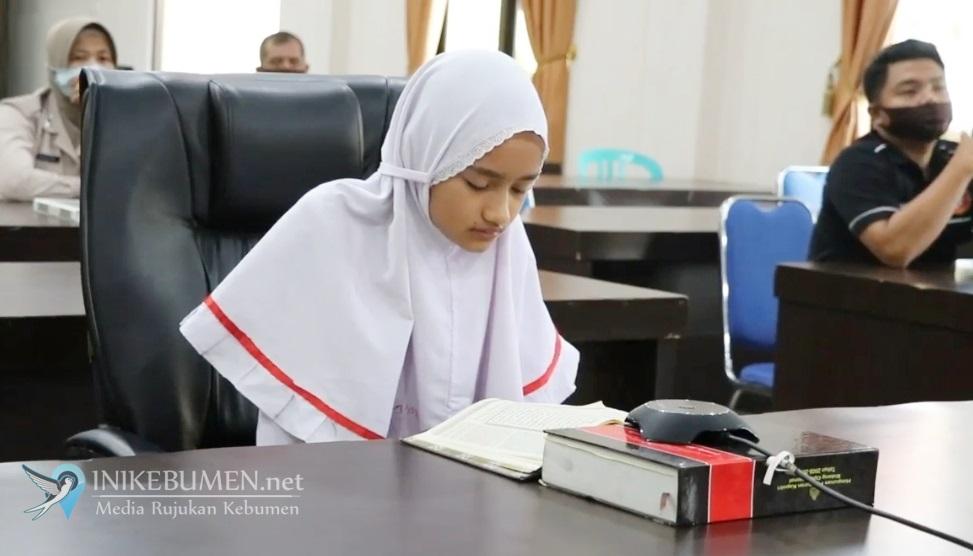 Dua Pelajar SDIT Ulil Albab Kebumen Juara MTQ Tingkat Polda Jateng