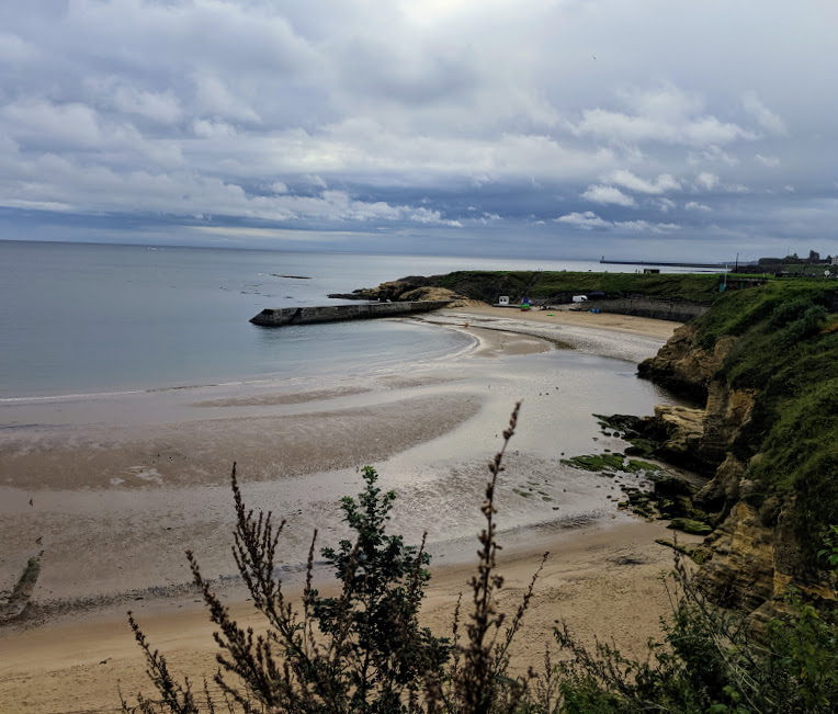 10 Magical Winter Walks for Children in North East England - Cullercoats Beach
