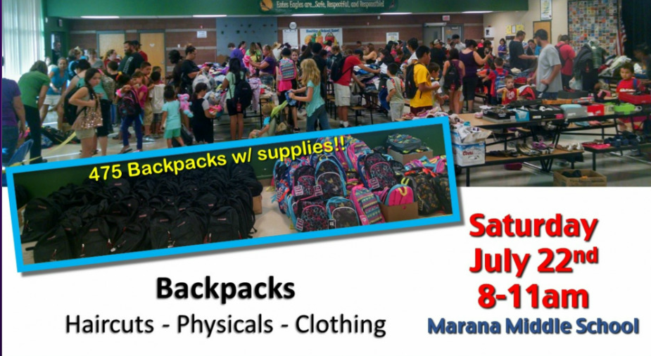 Arizona Families: FREE Backpacks and More {Tucson Back to