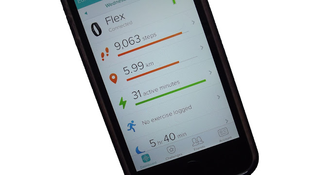 Synced Fitbit