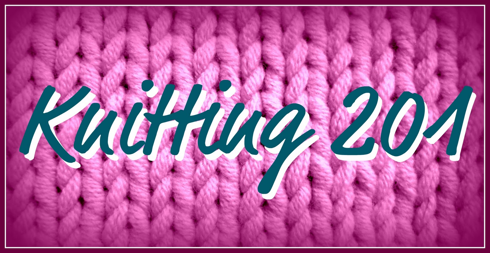 Snips & Spice: Knitting 201 {Double-Pointed Needles}