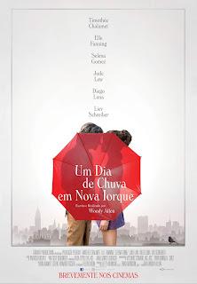 Um Dia de Chuva em Nova Iorque - Poster & Trailer