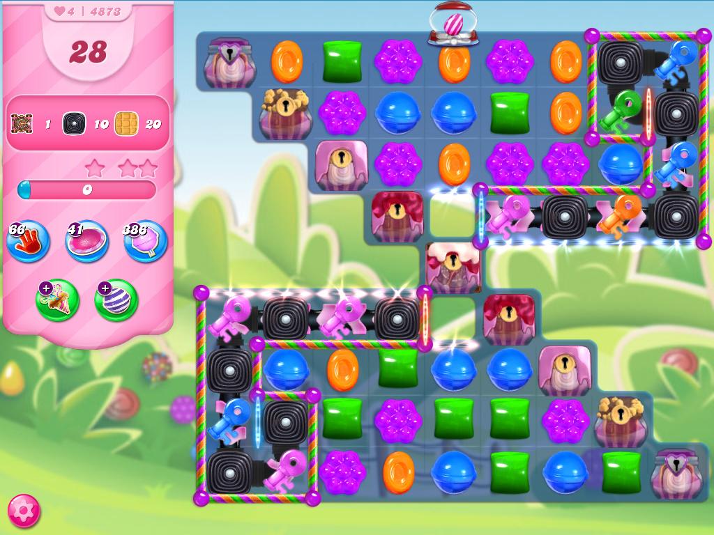 Candy Crush Saga level 4873