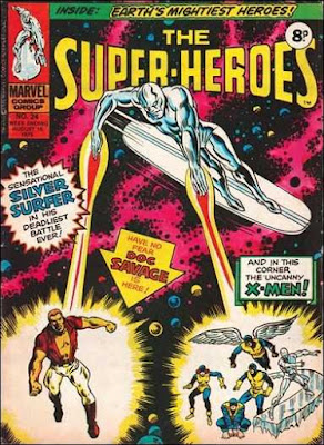 Marvel UK, The Super-Heroes  #24, the Silver Surfer