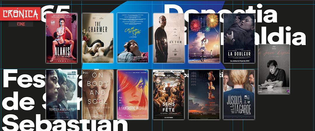 65 festival internacional de cine de San Sebastián 2017