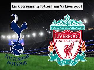 link streaming tottenham vs liverpool