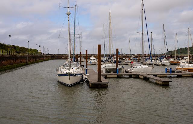 Photo of Monday afternoon at Maryport Marina