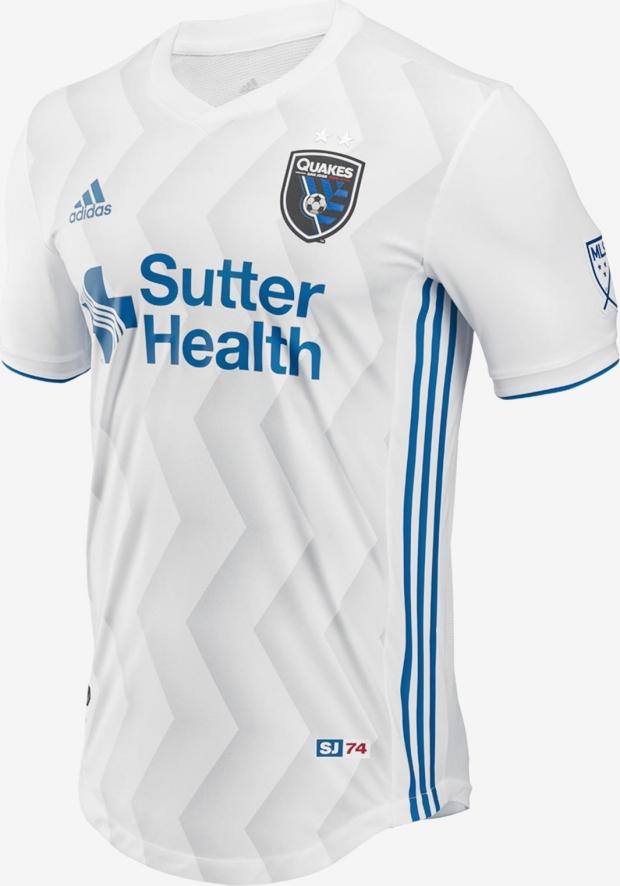 Adidas lança a nova camisa reserva do San Jose Earthquakes para a MLS 2018 0367a6b39a7ba