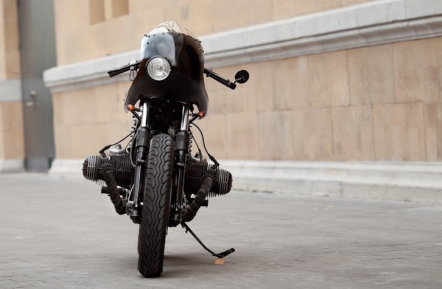 BMW R100 By Dumbador Hell Kustom