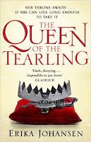 Book cover of The Queen of the Tearling by Erika Johansen