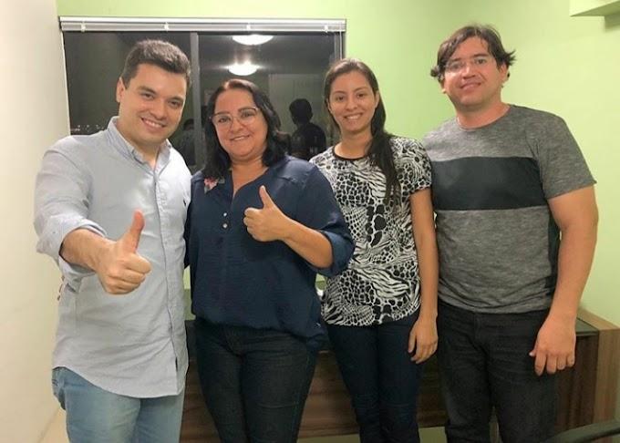 Sandra assina hoje ficha de filiação ao MDB, durante encontro estadual da legenda no RN