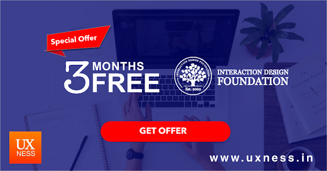 3 Months free Interaction Design Foundation offer