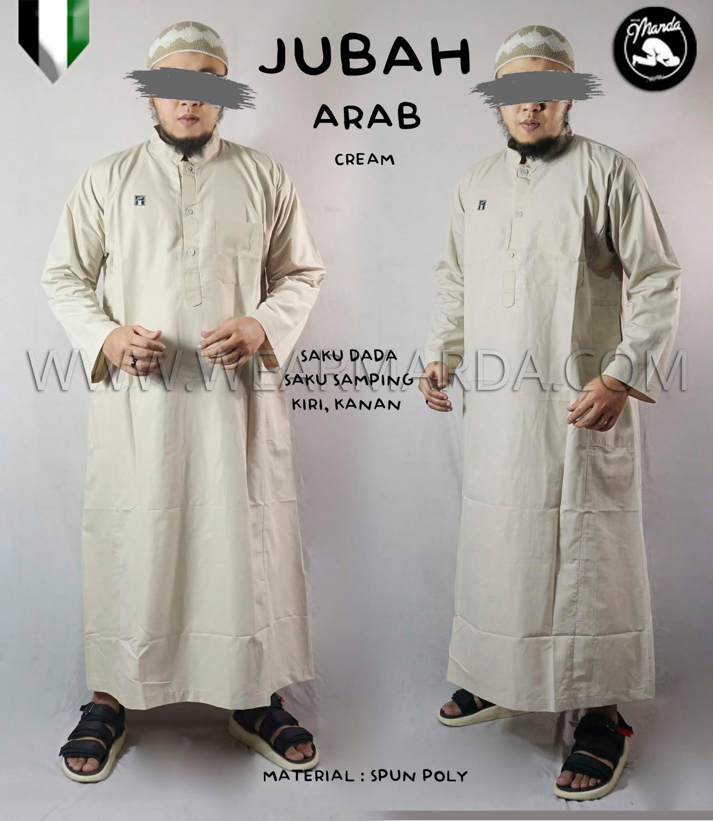 JUBAH ARAB CREAM
