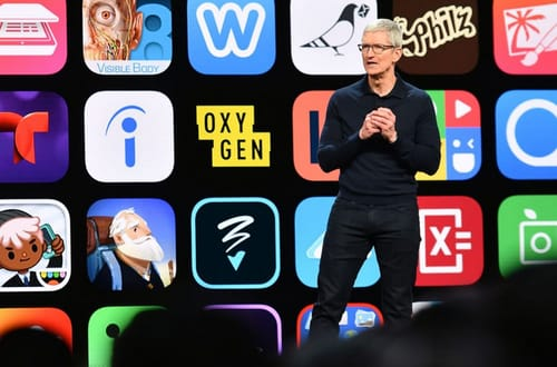 The Apple Store has sales of $ 64 billion in 2020
