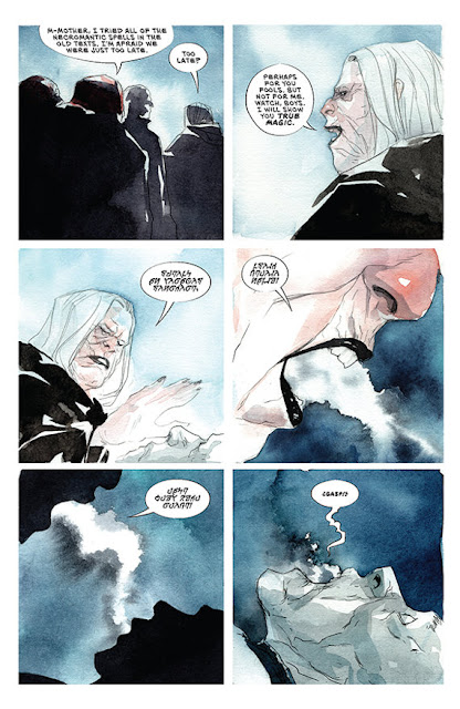 ASCENDER Coming in April from Jeff Lemire and Dustin Nguyen