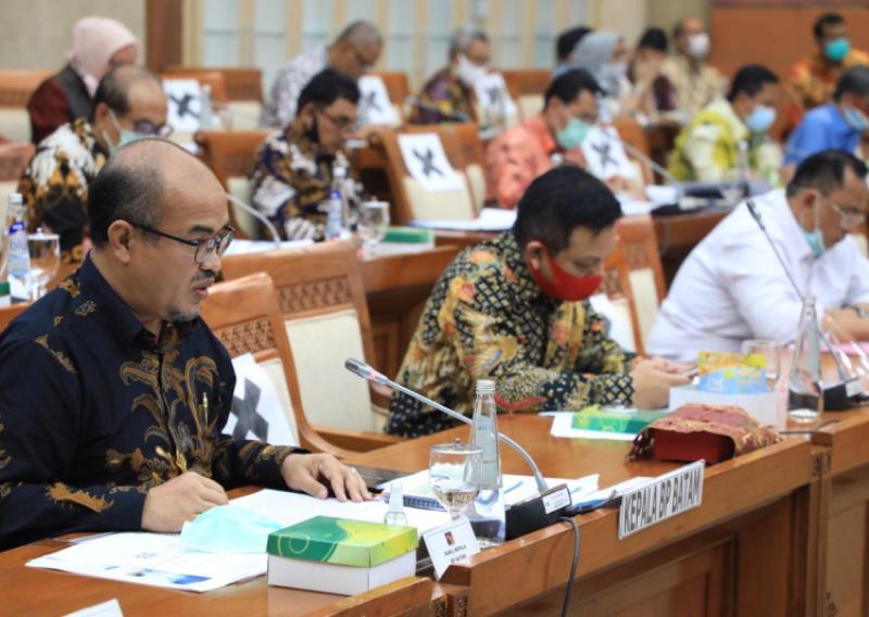 BP Batam Bahas Rencana Kerja dan Anggaran (RKA) Tahun 2021 Bersama Komisi VI DPR RI
