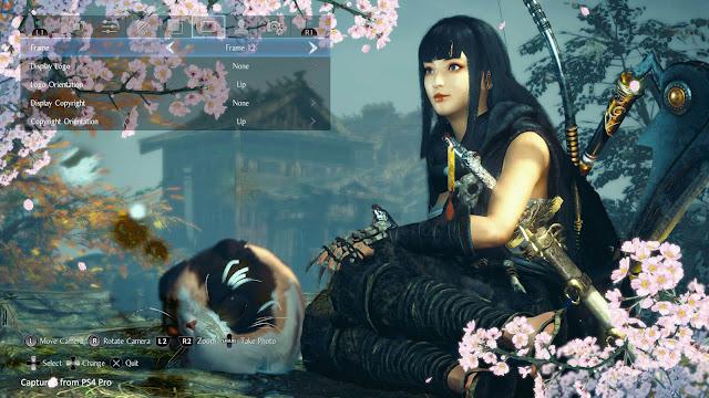 nioh 2 photo mode settings ps4 team ninja koei tecmo games sony interactive entertainment