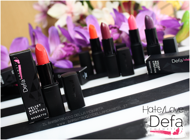 hate love review Defa cosmetics lipstick