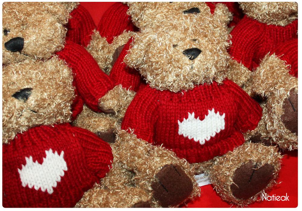 L'ours cœur de  Mécénat Chirurgie cardiaque