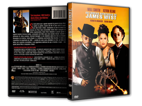 Capa DVD As Loucas Aventuras de James West
