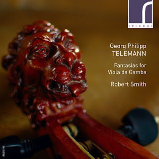 Telemann - Viola da Gamba Fantasias - Robert Smith - Resonus